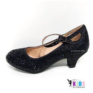 Heels  DINA - Silver  - Black