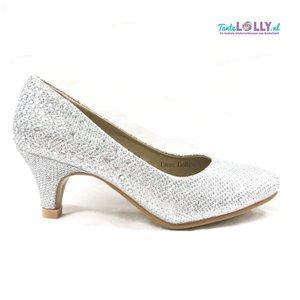Heels  ANNA - Silver