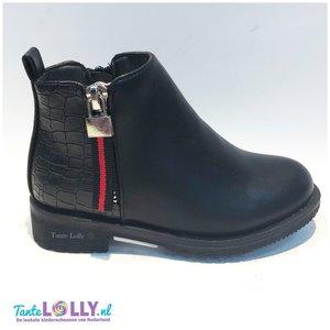 Boots LAUREN- Zwart