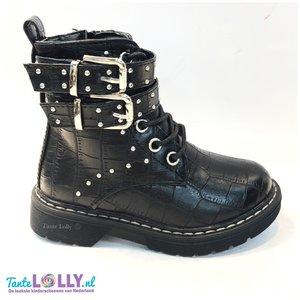 Boots BELLADONNA CROCO- Zwart ( 25-36)
