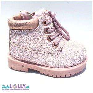 Boots GLITZ - Roze