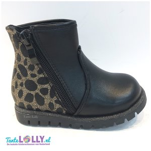 Ankleboots SUZY - Black/Gold
