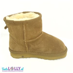 Winter Boots BAMBI- Camel  Suede (24-35)