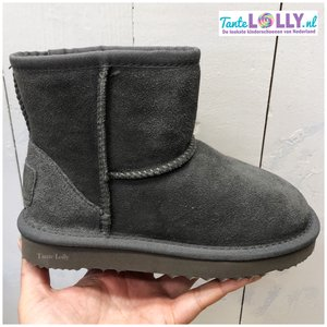 Winter Boots BAMBI- Grey  Suede
