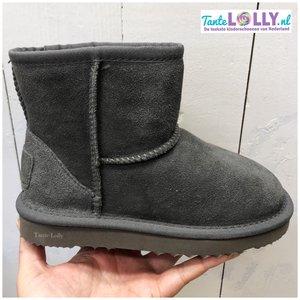 Winter Boots BAMBI- Grijs Suede