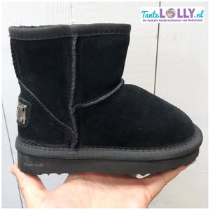 Winter Boots BAMBI- Black Suede (24-35)