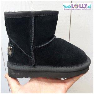 Winter Boots BAMBI- Zwart Suede ( 24-35)