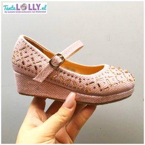 Sledge Heels  ELOISE- Pink