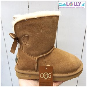 Winter Boots RAINBOW- Camel  Suede