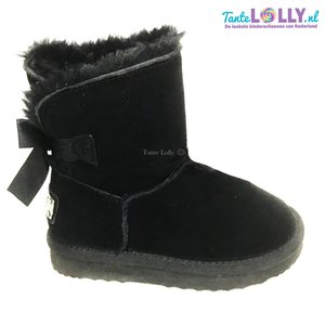 Winter Boots RAINBOW- Black Suede