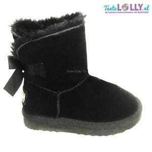 Winter Boots RAINBOW - Zwart Suede