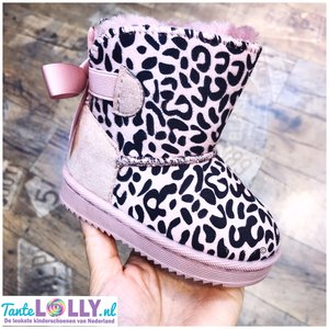 Boots SHIRA-  Roze