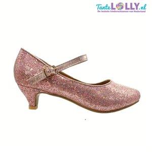 Heels  GLAMOUR - Black - Pink