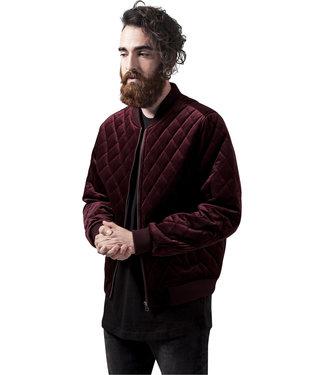 Diamond Quilt Velvet Jacket