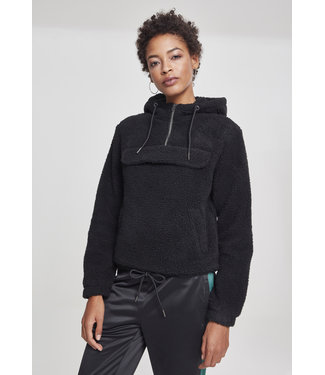 Ladies Sherpa Pull Over Hoody - TB2448