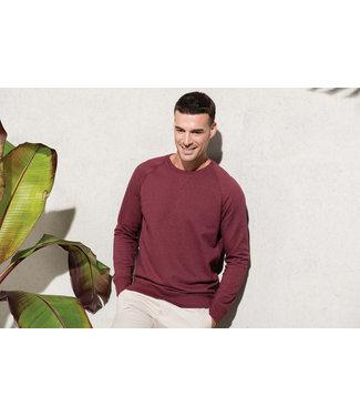 Kariban Sweater men organic cotton raglan