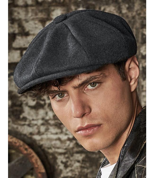 Melton Wool Baker Boy Cap CB629