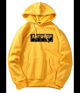 Antwerp Wear AW Hoody gold Jap Style