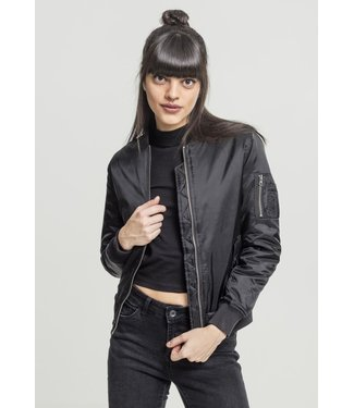 Ladies Basic Bomber Jacket