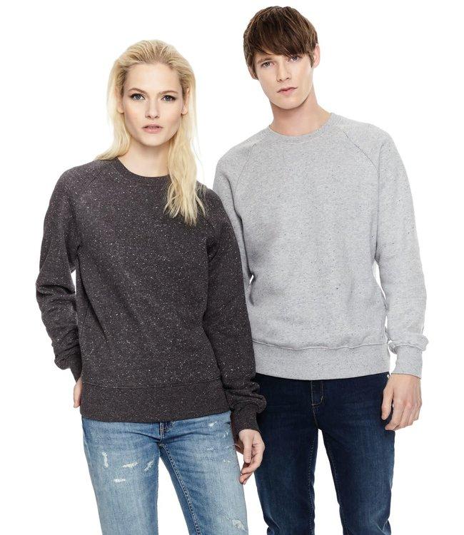 Unisex/ Mens Premium Organic Raglan  Crewneck Sweatshirt EP65