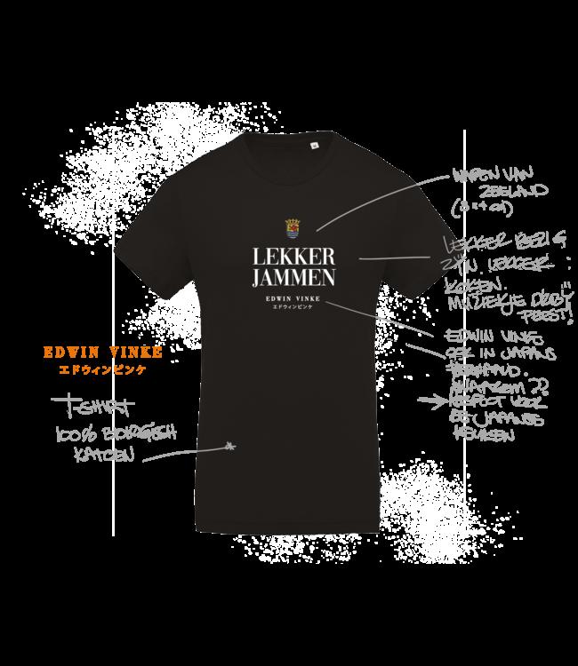 Edwin Vinke EV T-shirt Lekker Jammen!