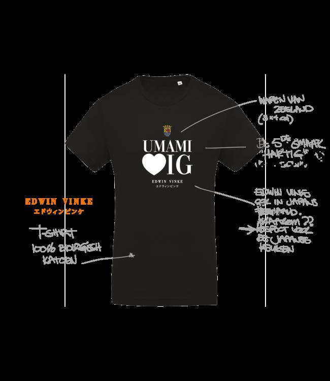 Edwin Vinke EV T-shirt UMAMI