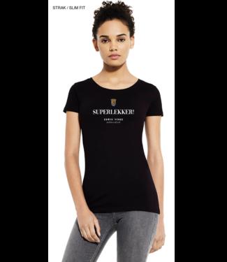 Edwin Vinke EV T-shirt SuperLekker dames