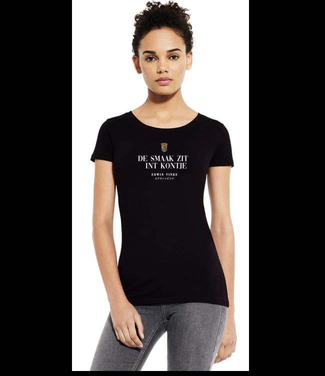 Edwin Vinke EV T-shirt kontje dames