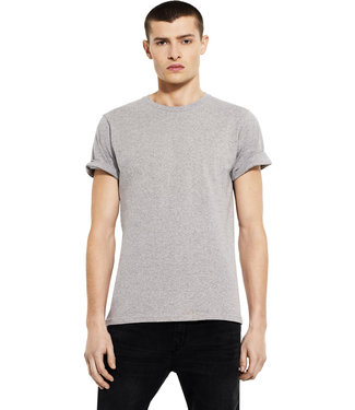 T-shirt men rolled up sleeve