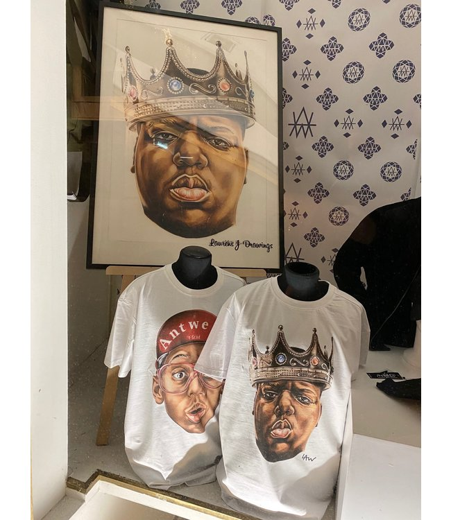 Dope on cotton T-shirt LAW / DOC  King Biggie