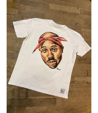 Dope on cotton T-shirt LAW / DOC TUPAC