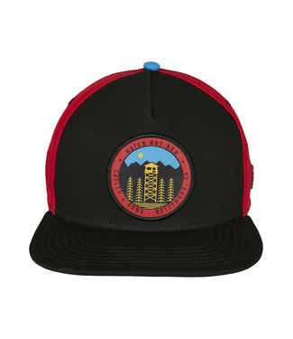 C&S CL Watch Out Snapback blk/red