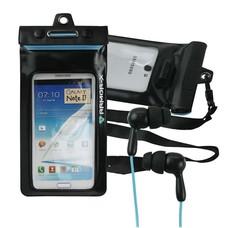 """Armor-x waterproof case - Smartphone 5,3"""" + hoofdtelefoon"""
