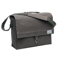 New Looxs enkele fietstas Dock Messenger - Canvas brown grey