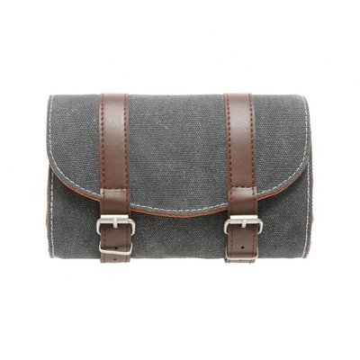 New Looxs zadeltas Mondi Saddlebag - Canvas grey