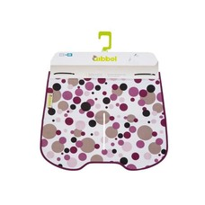 Qibbel Stylingset windscherm dots Purple