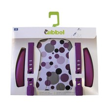 Qibbel Stylingset Luxe dots Purple voorzitje