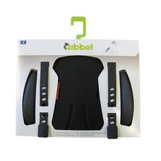 Qibbel Stylingset Luxe uni zwart achterzitje