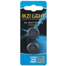 IKZI Light Batterijset - 3V CR2032 - 2 st.