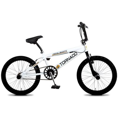 "Tornado Freestyle BMX 20"" – Wit"