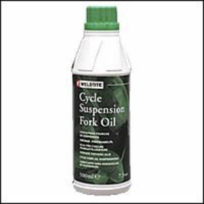 Weldtite vork olie 7,5wt - 500 ml