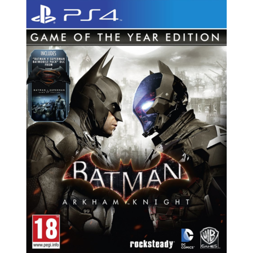 Warner Bros. Games Batman: Arkham Knight Game of the Year Edition PS4
