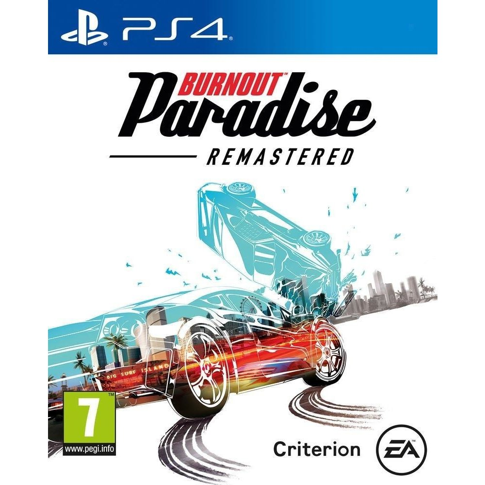 Electronic Arts Burnout Paradise: Remastered PS4
