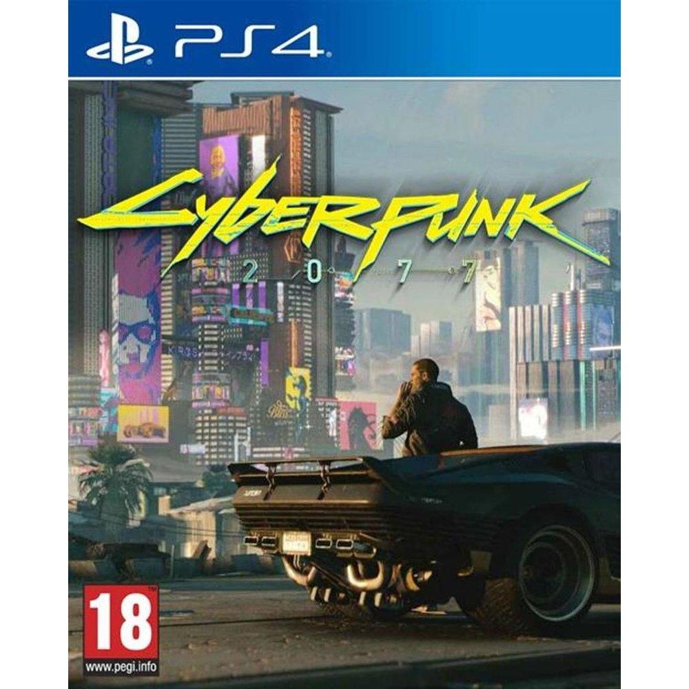 CD Projekt RED Cyberpunk 2077 PS4