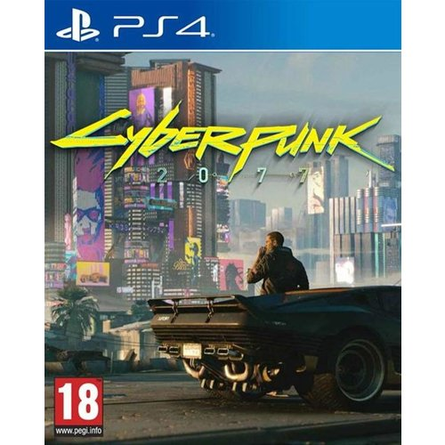 CD Projekt RED Cyberpunk 2077 PS4