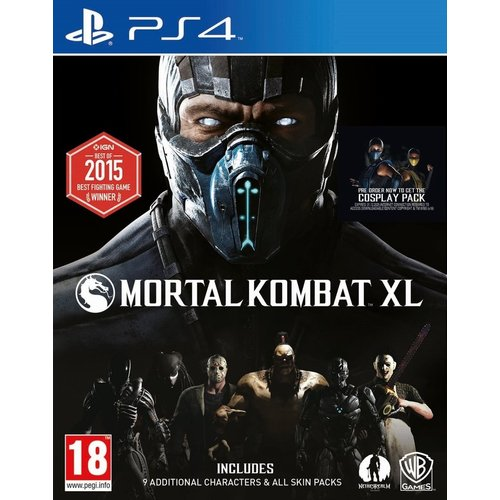 Warner Bros. Games Mortal Kombat XL PS4