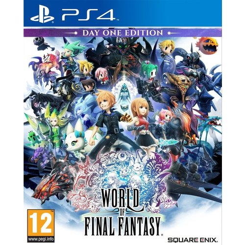 Square Enix World of Final Fantasy PS4