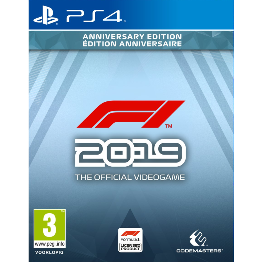 Codemasters F1 2019 - Anniversary Edition PS4