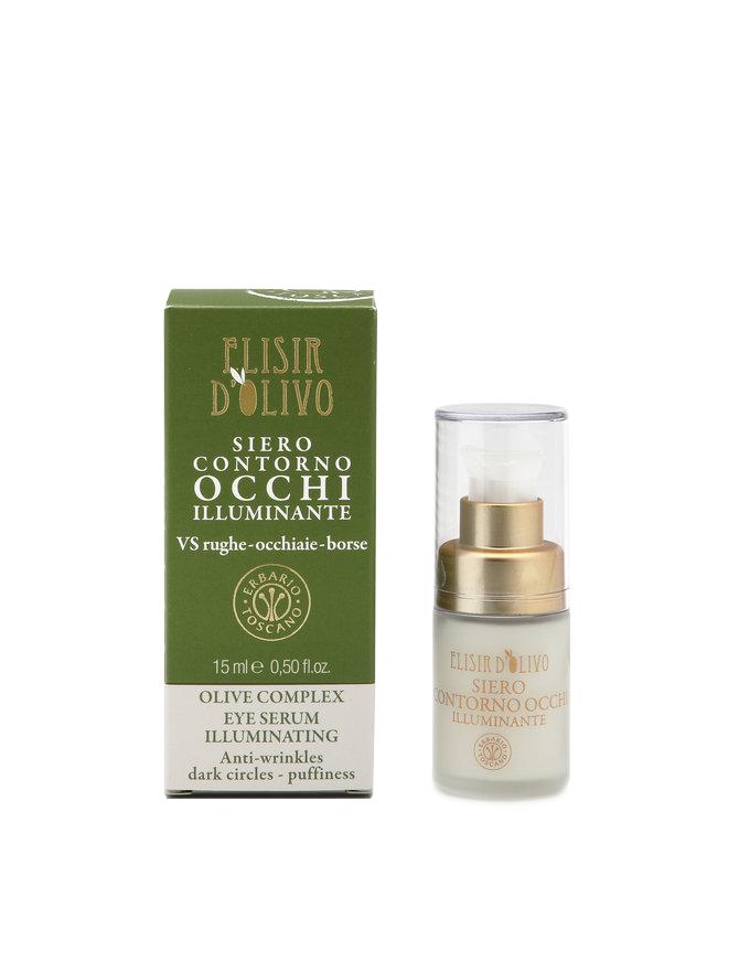 Erbario Toscano  Illuminating  Eye  Serum Olive Complex  15 ml