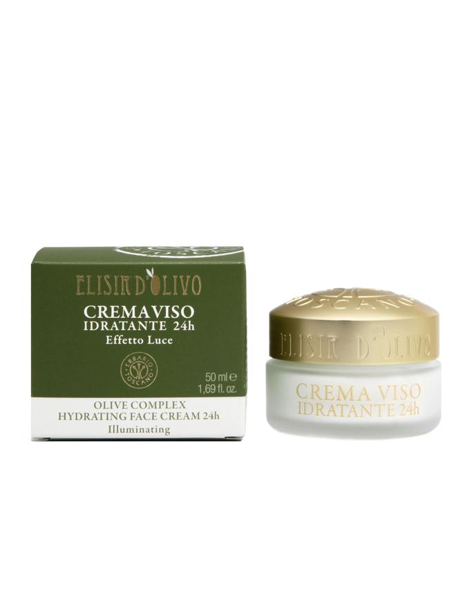 Erbario Toscano Hydrating Face Cream 24H Olive Complex  50 ml